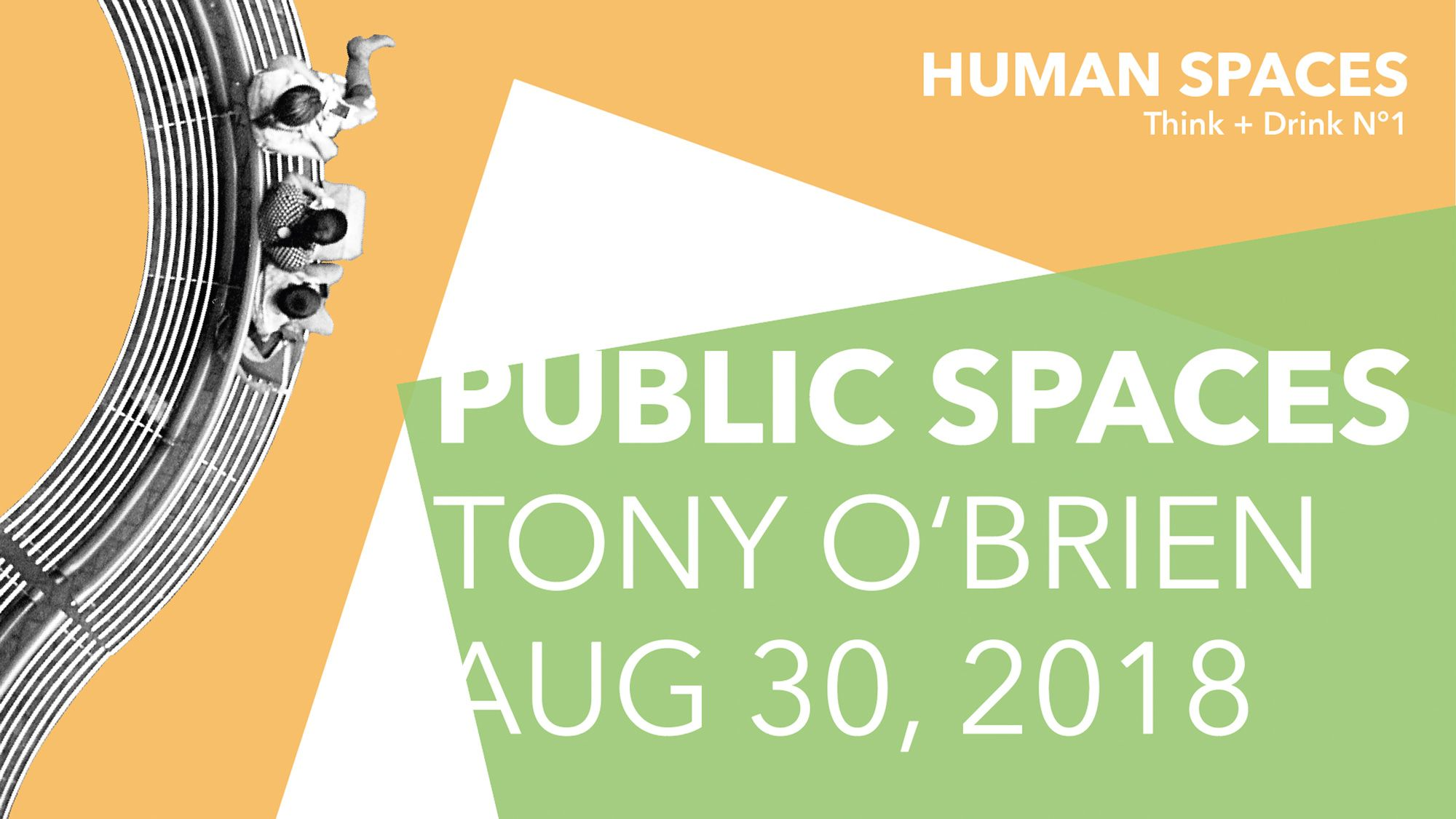 Award winning public space design - talk by Tony O'Brien